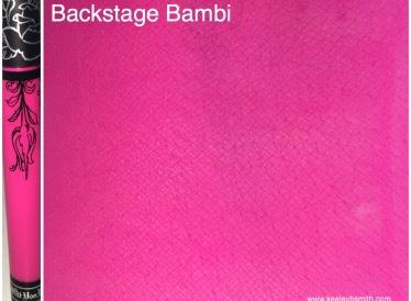 KVD Backstage Bambi Arm