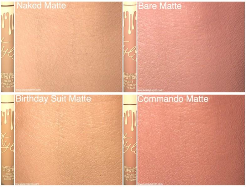 Kylie Matte Lip Set Arm Swatches