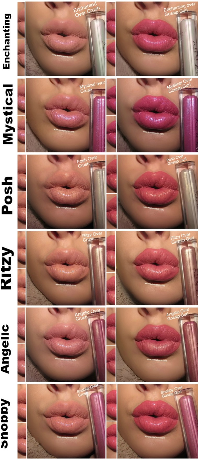 Huda Lip Strobe Over Product Swatch 9
