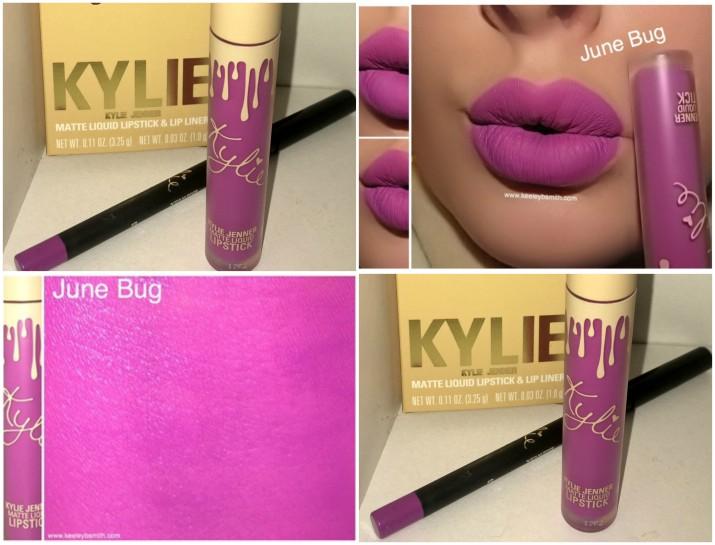 Kylie June Bug Swatch 2