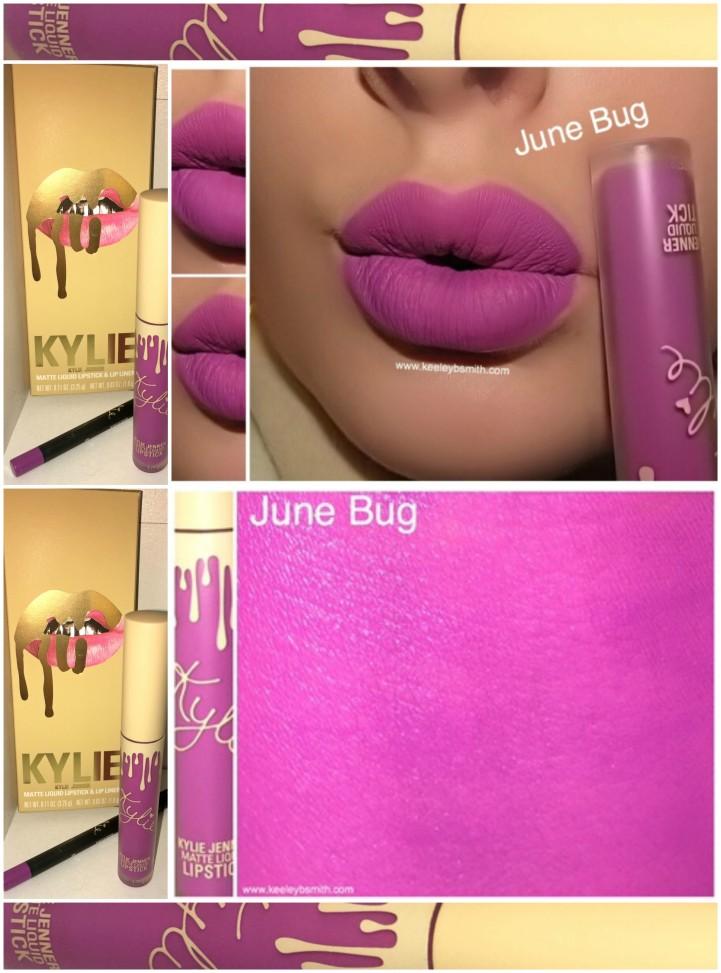 Kylie June Bug Swatch 8