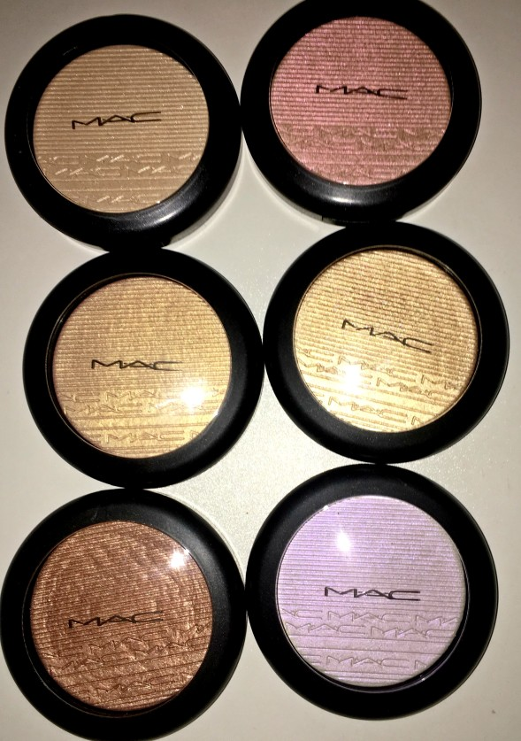 Mac Oh Darling Review Giveaway: MAC Extra Dimension Skinfinish Highlighter Review And