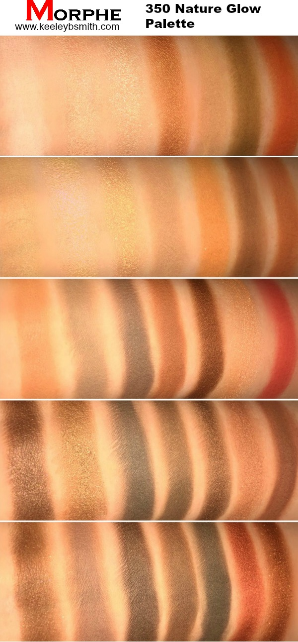 Morphe 350 Swatch 2 Labelled PM